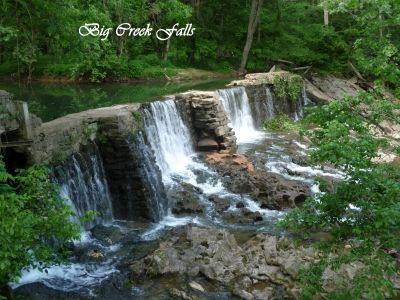 Big Creek Falls, before the center stack collapsed. We are losing the oldest stone dam in TN.